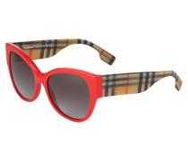 Sonnenbrille mischfarben / rot