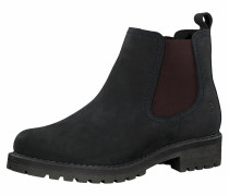 Chelsea Boot burgunder / kobaltblau
