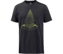 'digital Redux' T-Shirt schwarz