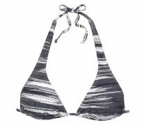 Triangel-Top 'Physical' schwarz / weiß