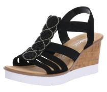 Sandale 'v55D8-00' schwarz