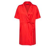 Kurzes Wickel Kleid rot
