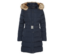 gesteppter Wintermantel navy