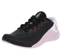 Sport-Schuhe 'metcon 5' mint / schwarz / rot