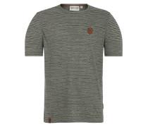T-Shirt 'Hosenpuper' khaki / schwarz