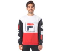 Jamie Sweatshirt rot / schwarz / weiß