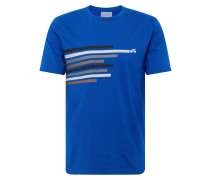 Shirt 'jaames Bike Lines' blau