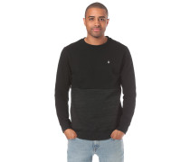 Sweatshirt 'Single Stone Div Crew' schwarz