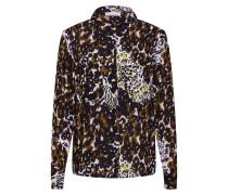 Bluse 'Milly shirt aop 7201' braun