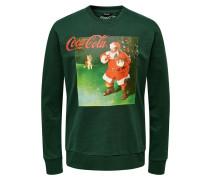 Sweatshirt grasgrün / mischfarben