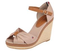 Sandale 'Iconic Elena' hellbraun