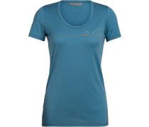T-Shirt 'Tech Lite SS Scoop Single Line Camp'