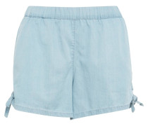 Chambray Shorts blue denim