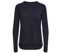 Lockerer Pullover nachtblau