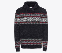 Pullover 'shawl jacquad Sweaters'