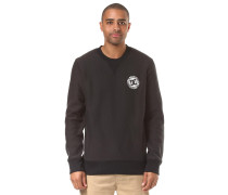 Core Crew Fleece Sweatshirt schwarz