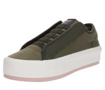 Sneaker 'Strett Lace Up' oliv