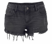 Hotpants black denim