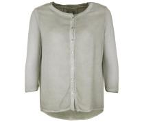 Bluse Button oliv