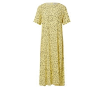 Kleid 'Jillian' gelb / weiß