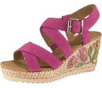 Sandaletten fuchsia