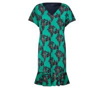 Kleid '12010' jade / schwarz
