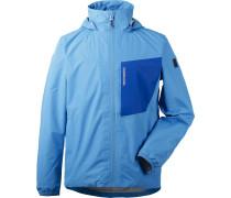 Regenjacke 'Incus' blau / hellblau
