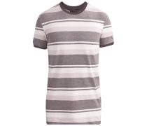 Shirt graphit / hellgrau / weiß