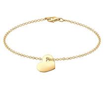 Armband 'Herz' Symbol gold