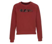 Sweatshirt 'Micella' karminrot