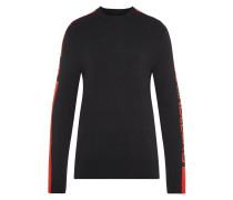 Nolans Pima-Baumwolle Pullover schwarz