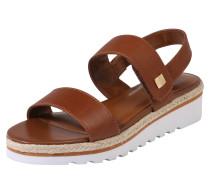 Sandale 'jewelle' braun