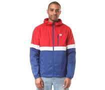Dagup Triple Jacke blau / rot / weiß