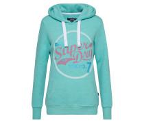 Sweatshirt 'tokyo 7 Glitter Entry Hood'