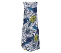Kleid 'vest_Iowas' dunkelblau / weiß