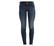 Jeans 'Skinny Alexa' dunkelblau