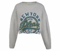 Sweatshirt (Set 2 tlg. mit T-Shirt) grau