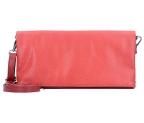 Clutch 'Ronja' lachs / silber