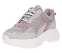 Sneaker hellgrau / lila