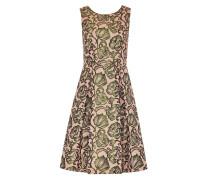 Jacquard-Kleid mit Rückenausschnitt