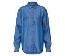 Bluse 'Western' blue denim