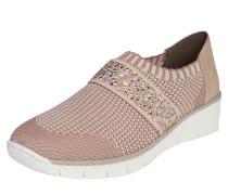 Slipper 'Etno' beige / rosa / weiß