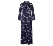 Kleid 'lg009190' schwarz / weiß