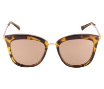 Sonnenbrille 'Caliente' braun