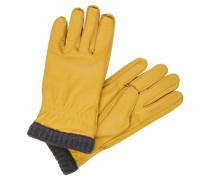 Handschuhe gelb / dunkelgrau