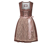 Kleid 'Fedra' rosé / dunkelrot