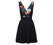 Cocktail-Kleid mischfarben / schwarz