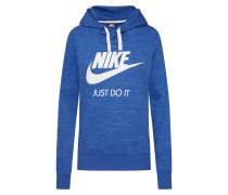 Sweatshirt 'gym Hoodie' blau