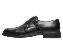 Leder Schuhe schwarz