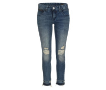 Jeans 'touch Cropped' blue denim